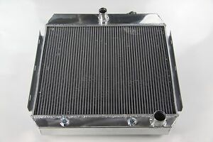 New Aluminum Radiator Chevy 6 straight engine Bel air 1955 57 56