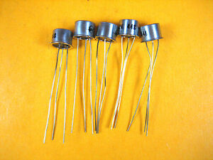 Vintage Motorola 2n652a Transistor lot Of 5