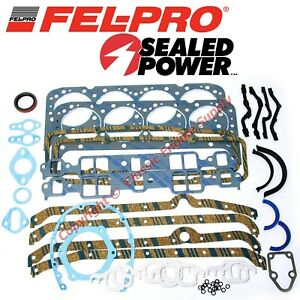 New Fel Pro Engine Overhaul Gasket Set 1975 1980 Chevy Sb 305 5 0l