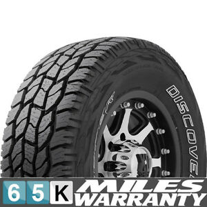 New P245 75r16 Cooper Discoverer Ht Owl Premium All season Tire Set Of 4