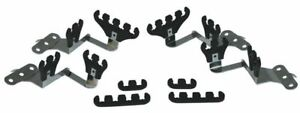 Moroso 72143 Small Block Chevy Wire Loom Kit For Centerbolt Heads Black 7 9mm