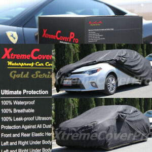 2012 2013 2014 2015 Toyota Corolla Waterproof Car Cover W mirror Pockets Black