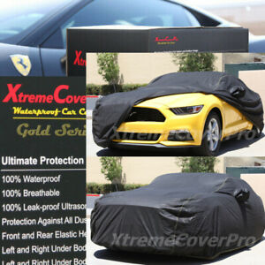 2015 Ford Mustang Waterproof Car Cover W mirror Pockets Black