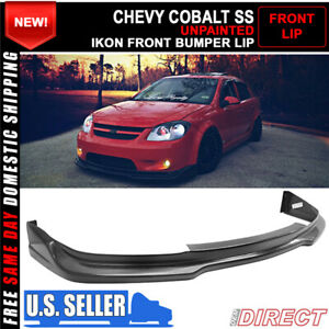 For 05 10 Chevrolet Cobalt Ss Coupe Sedan Ikon Front Bumper Lip Chin Spoiler