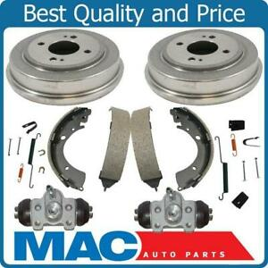 New Rear Drums Brake Shoes Wheel Cylinders Hardware For Honda Civic 1996 2000