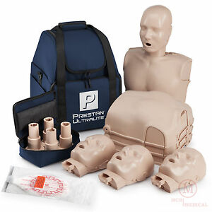 4 pack Prestan Ultralite Cpr Manikins Pp ulm 400 ms Ultra Light Mannequins