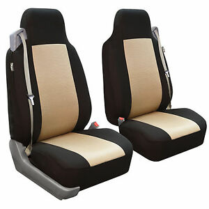 Car Seat Covers For Integrated Seat Belts Built In Seat Belt Beige