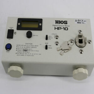 New Branded Hios Hp 10 New Digital Electric Screwdriver Torque Tester
