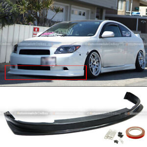 For 04 10 Tc Urethane Jdm Style Pu Front Bumper Lip Spoiler Body Kit Add On