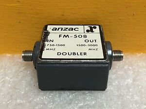 Anzac Fm 508 750 1500 Mhz In To 1500 3000 Mhz Out Sma Coaxial Frequency Doubler
