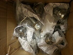 Chrome Combination Cam Lock Outdoor Rated Rv Truck Locker Desk lot Of 5