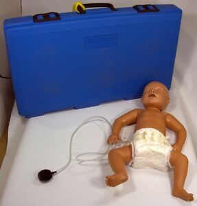 Armstrong Medical Industries Inc Cpr Baby Manikin W Case Great Condition