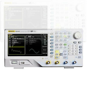 Rigol Dg4102 Lcd Display Signal Arbitrary Waveform Generator Awg 100mhz 2channel