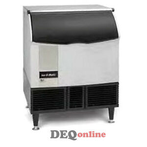 Ice o matic Iceu300ha Air Cooled 309 Lb 24 Hour Undercounter Cue Ice Maker