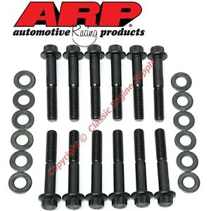 New 154 2101 Arp Intake Manifold Bolt Set Ford Sb 289 302 351w 12 Point Heads
