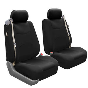 Car Seat Covers For Integrated Seat Belts Built In Seat Belt Black Auto