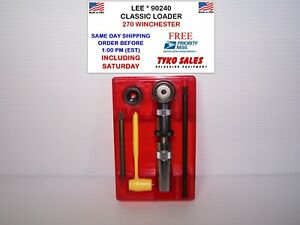 90240 * LEE CLASSIC LOADER SET * 270 WINCHESTER