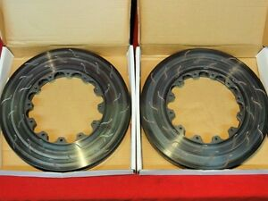 New Alcon Brake Rotors Set 13 15 X 1 65 Nascar Ap Brembo Alc Div4212b014al