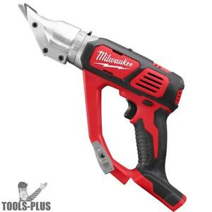 Milwaukee 2635 20 M18 Cordless 18 Gauge Double Cut Shear tool Only New