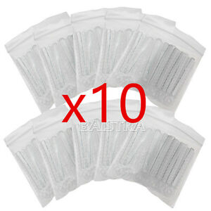 10 Packs Dental Orthodontic Ortho Ligature Ties Clear color 1014pcs pack Top