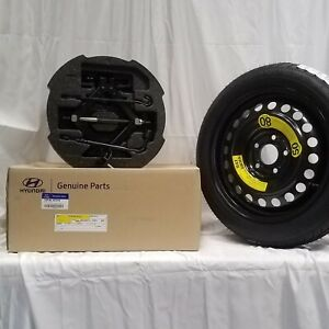 2015 2017 Oem Hyundai Sonata Complete Spare Tire Kit Tire Mounted C2f40 ac910
