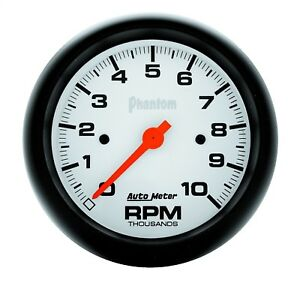 Autometer 5897 Phantom In Dash Electric 3 3 8 Tachometer 0 10 000