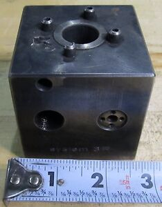 System 3r Edm Mini Block 70mm Cube For 20mm Shank Tooling