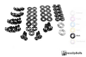 Dress Up Bolts For 07 15 R35 Gtr Black Ti Titanium Engine Bay Kit