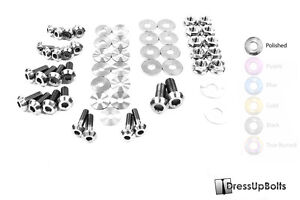 Dress Up Bolts For 07 15 R35 Gtr Polished Ti Titanium Engine Bay Kit