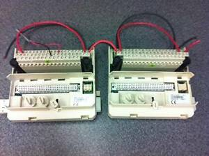 Lot Of Two Abb Ext Mod Termination Unit 3bse013234r1