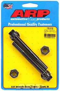 Arp 130 3105 Chevy Big Block Small Block Motor Mount Cross Bolts Black Hex
