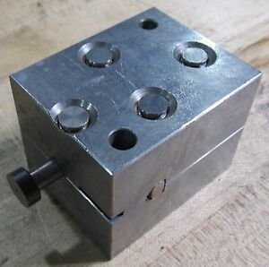 Edm Block Used With System 3r Tooling