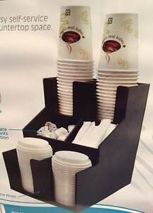 Winco Clso 2t Cup Lid Condiment Organizer 3 Tier 2 Stacks