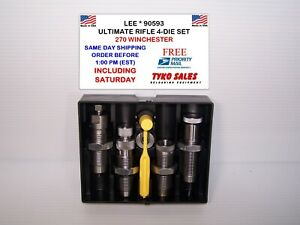 90593 * LEE ULTIMATE 4-DIE SET * 270 WINCHESTER