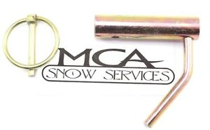 Western Snow Plow Stand Pin Unimount 93034 3 16 Linch Pin 93042