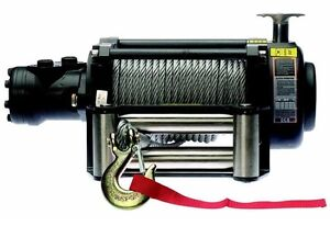 Hydraulic Winch 12 500 Or 17 000 Lbs Includes Accessories Commercial Duty