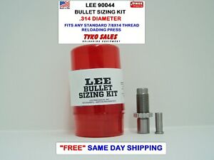 LEE 90044  * LEE PRECISION BULLET SIZING DIE KIT * .314 DIAMETER * 90044