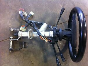 1994 Ferrari 348 Steering Column With Steering Wheel And Switches
