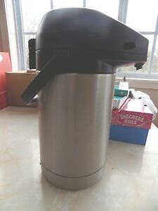 Bunn 2 5l Coffee Beverage Pump Insulated Stainless Dispenser Urn