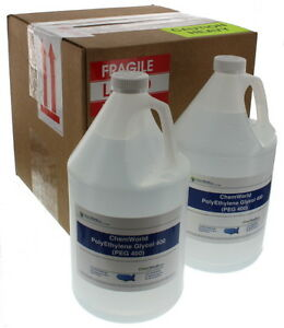 Chemworld Polyethylene Glycol peg 400 4x1 Gallon