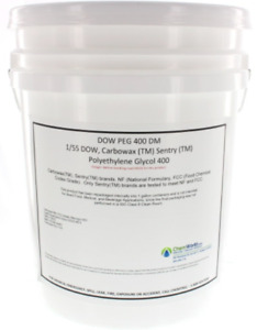 Chemworld Polyethylene Glycol peg 400 5 Gallons