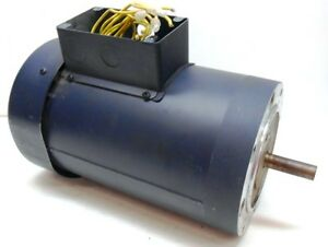Leeson Electric Motor 115585 C6t11fc25a 1 5 Hp 1140 Rpm