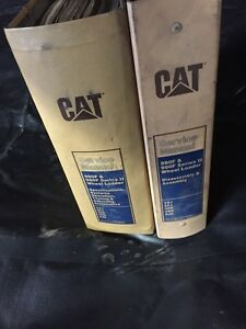 Caterpillar Cat 980f 980 Wheel Loader Service Manual S n 8cj 3hk 5xj 4rn 8jn