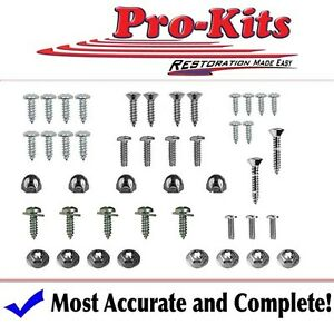 Mopar 68 69 70 Gtx Roadrunner B Body 4 Speed Manual Console Screw Kit 46 Pcs New