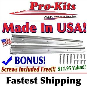 Fits 68 69 70 Roadrunner Charger Coronet Belvedere B Body Sill Scuff Plates New