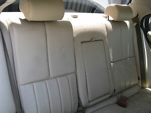 Jaguar S Type Rear Seat 2003 2004 2005
