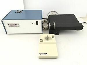 Semi Auto Xy Microscope Stage Set Up For Olympus Bx60