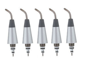 5pcs Replaceable Nozzles Tips Fit Dental Air Polisher Teeth Polishing 2 4 Holes