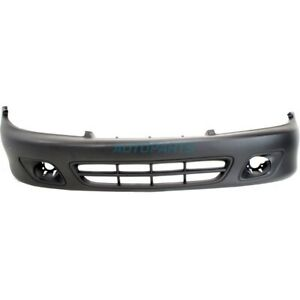 New Front Bumper Cover Primed Fits 2000 2002 Chevrolet Cavalier Gm1000591