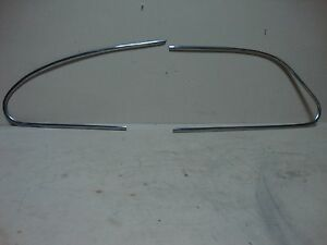 46 47 48 Pontiac Silver Streak 4dr Passenger Side Stainless Window Trim